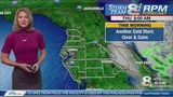 STORM TEAM 8: Faster warm-up expected today