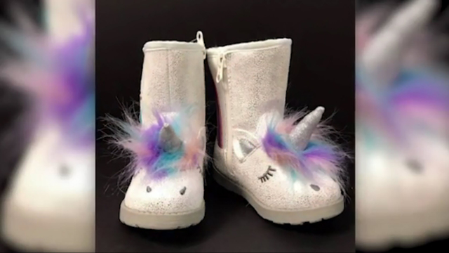 Target recalls toddler boots shaped like unicorns over choking hazard