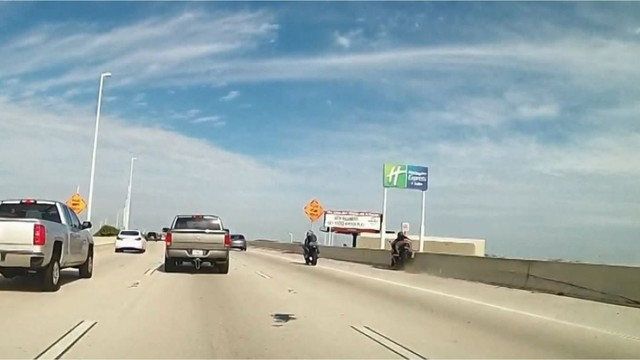 3289c129ce2 Motorcyclist dies after falling 100 feet from overpass in hit-and ...