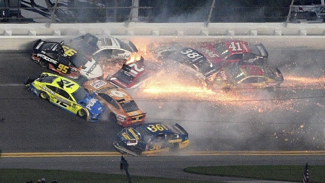 big wreck NASCAR Daytona 500 Auto Racing_1550449596229