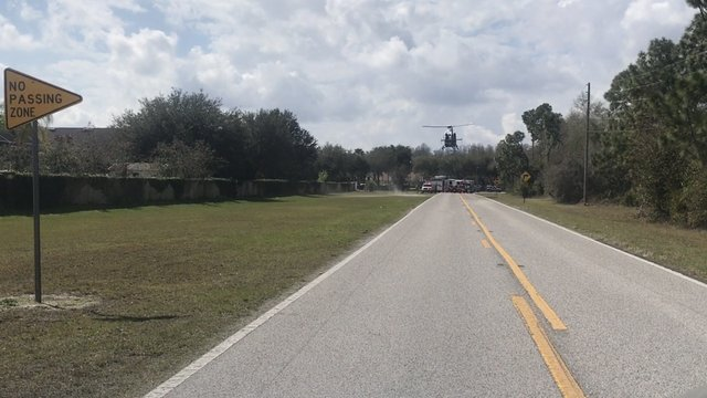 Traffic Alert: Motorcyclist flown to hospital after colliding with car