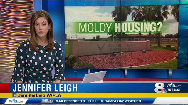 News 8 Now >> Mold Issues At Macdill Now Getting Attention From The Highest Levels