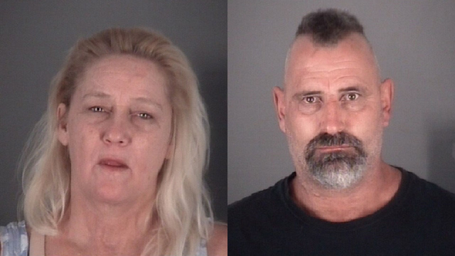 Couple arrested for throwing concrete through each other's car windows in Pasco