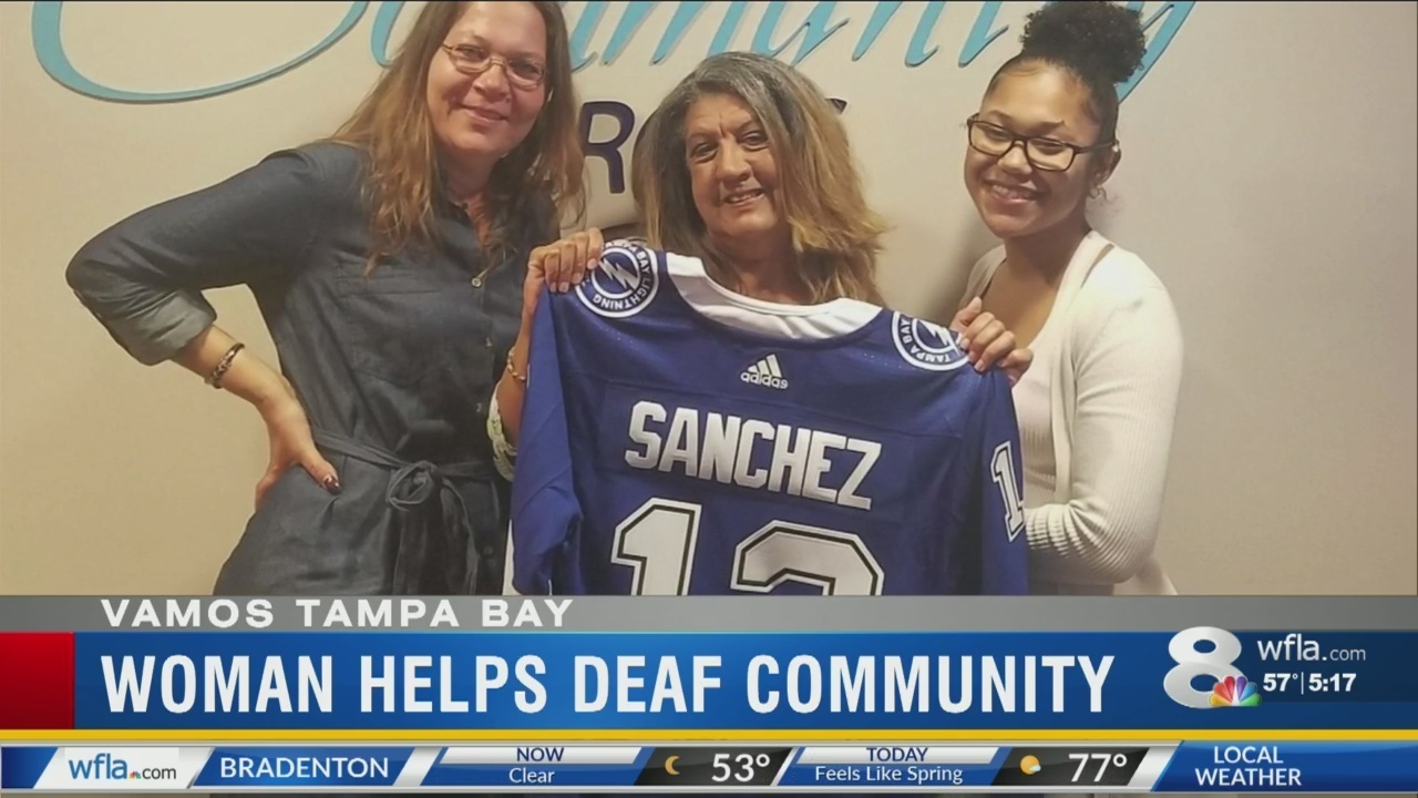 Image result for Woman honored as Lightning Community Hero for her work in Deaf Community