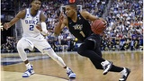 NCAA Latest: No. 1 seed Duke survives against UCF
