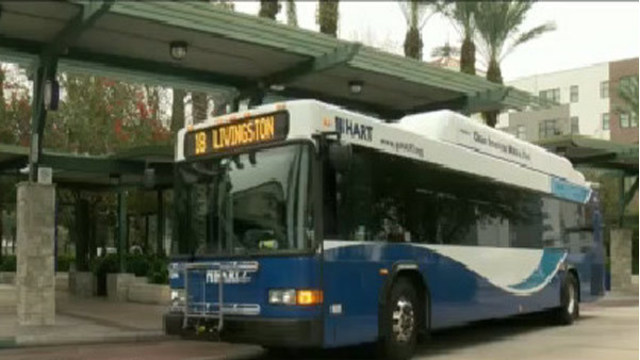 Free rides on HART buses to celebrate Earth Day