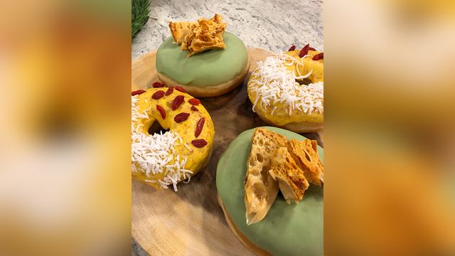Tampa dessert shop offering CBD oil-infused doughnuts
