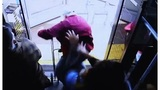 Outrage after woman charged in deadly bus push freed on bond